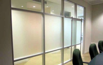 Conference Room Design Idea with AGAM System – Sliding Door