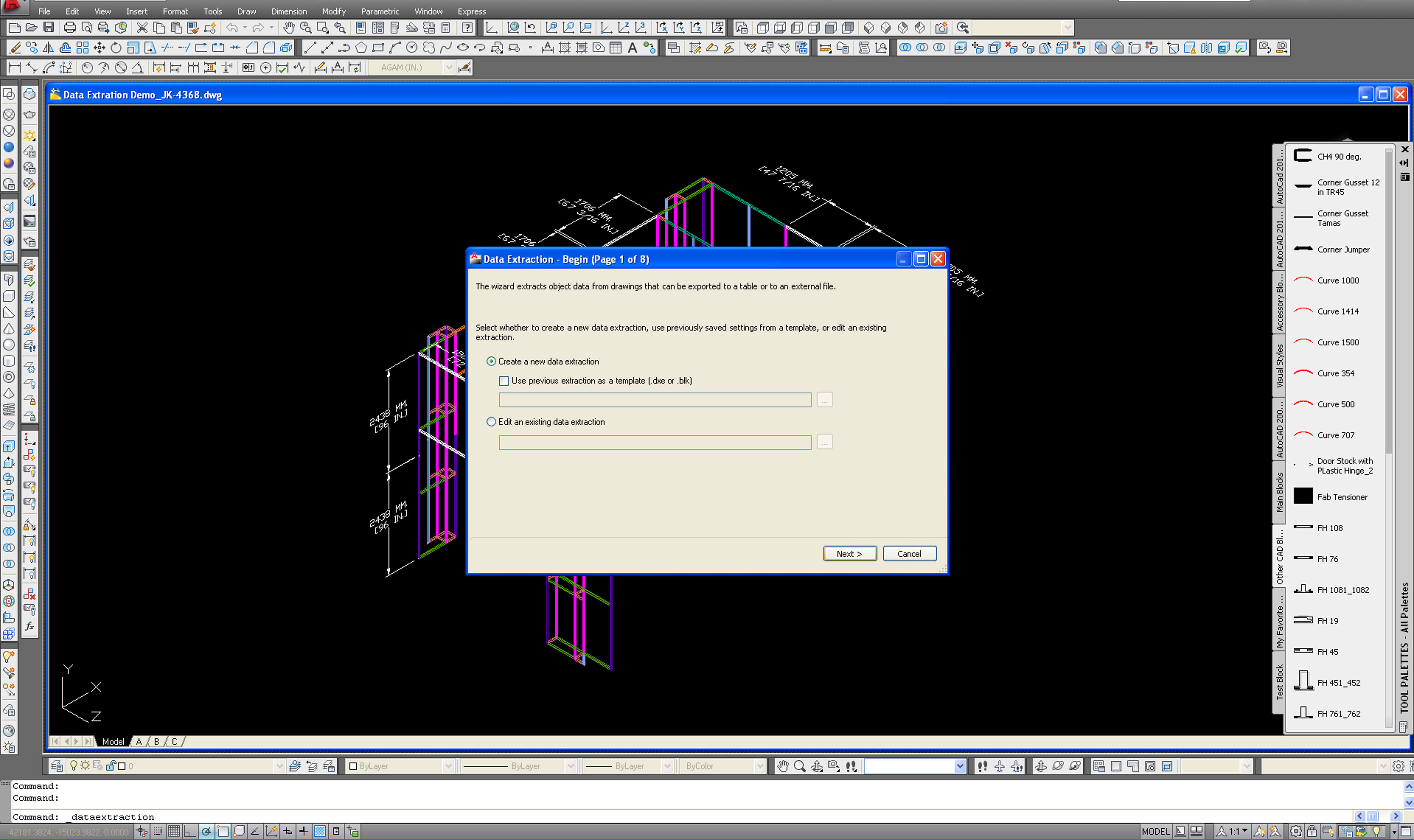 Tutorial how to generate a parts count in autocad agam blog tutorial how to generate a parts count in autocad baditri Images