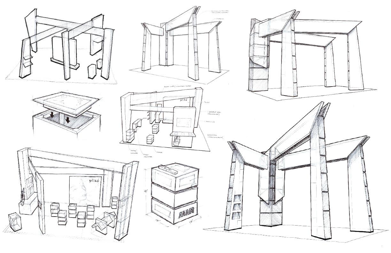 Centre Bell Floor Plan Exhibit Design Agam Blog