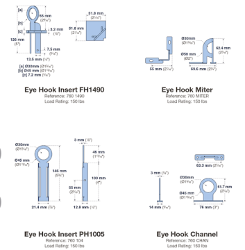 New Product Launch at AGAM – Eye Hooks